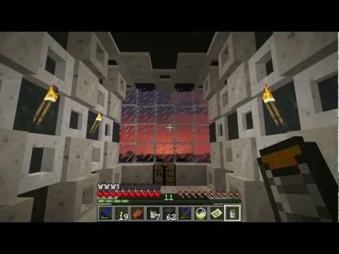 Minecraft S2E4 Red Power Saw, Slabs, And Volcanoes