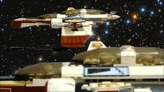 Lego StarWars space battle