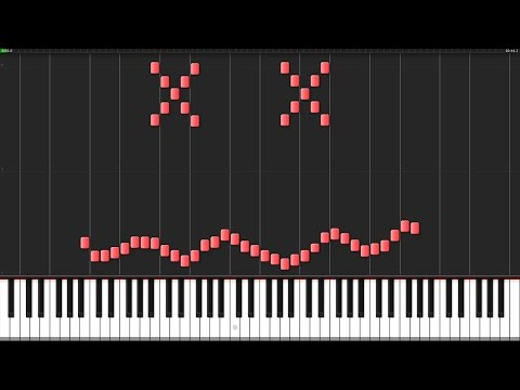 Mad World  Tears for Fears Piano Tutorial Synthesia  Lucky Piano