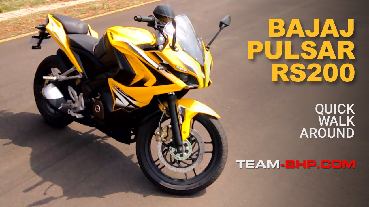 Pulsar Rs200 Overview Team Bhp Youtube