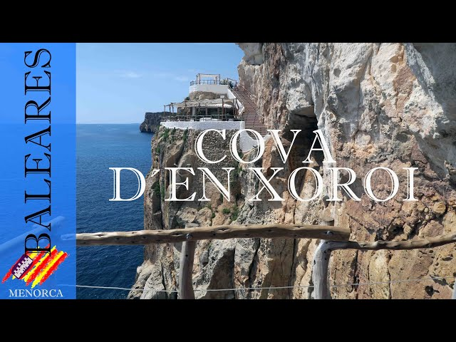La Cova d'en Xoroi una cueva natural | Menorca #6