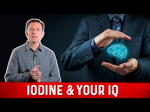 Iodine Deficiency & Your IQ
