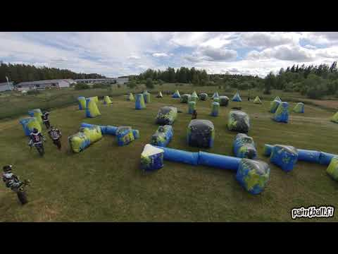 BOS Paintball 1 vs Dream Team - SPBL2019 Piikkiö