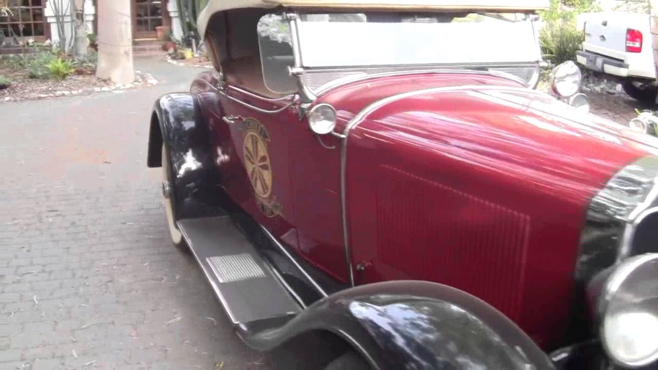1929 Buick Rumble Seat Roadster FOR SALE(4/4) - YouTube