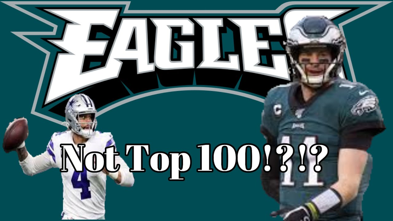 Carson Wentz and Lane Johnson snubbed on NFL's top 100 players ...
