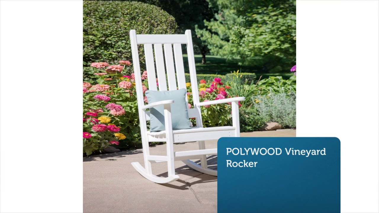 Polywood Table & Polywood Rockers | 877-876-5996
