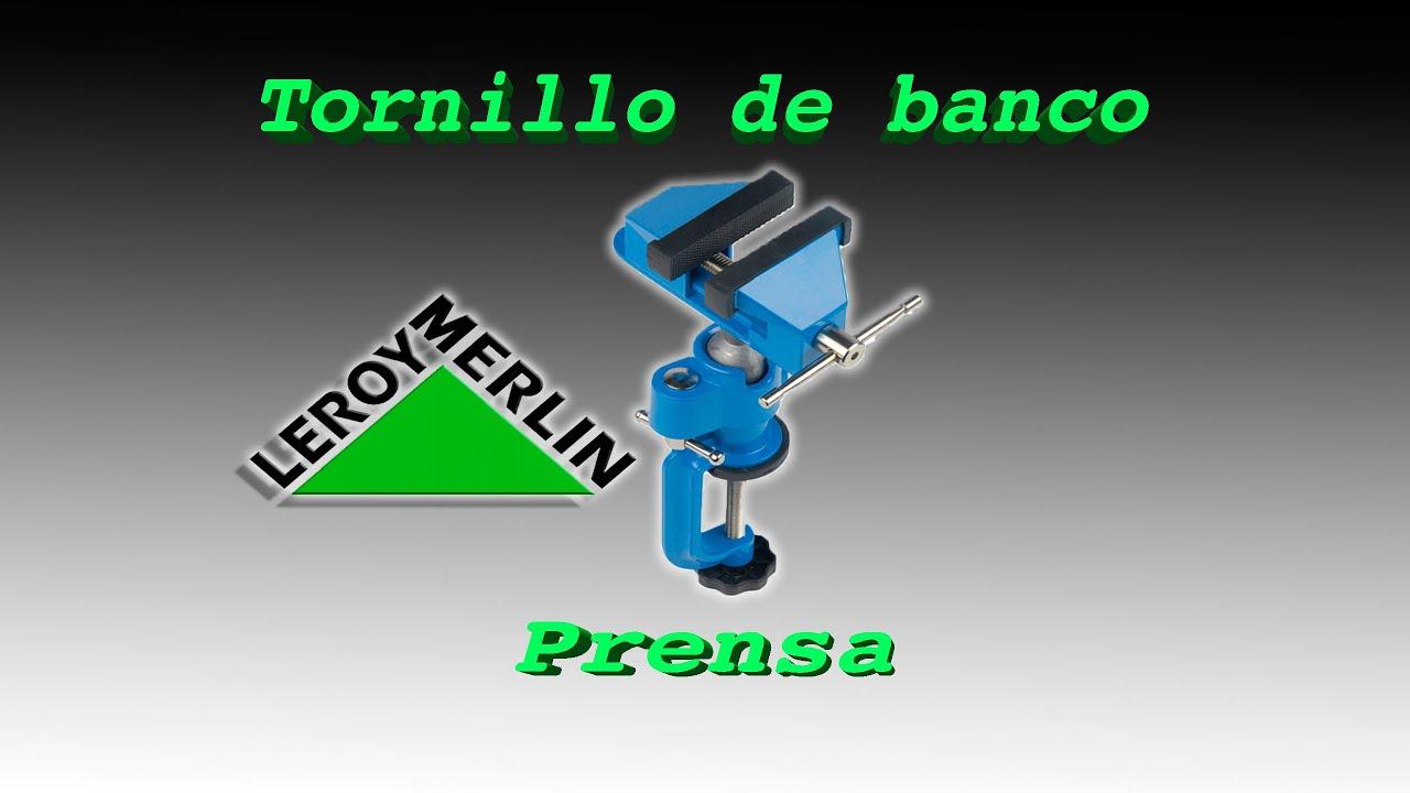 Review Prensa Tornillo De Banco Youtube