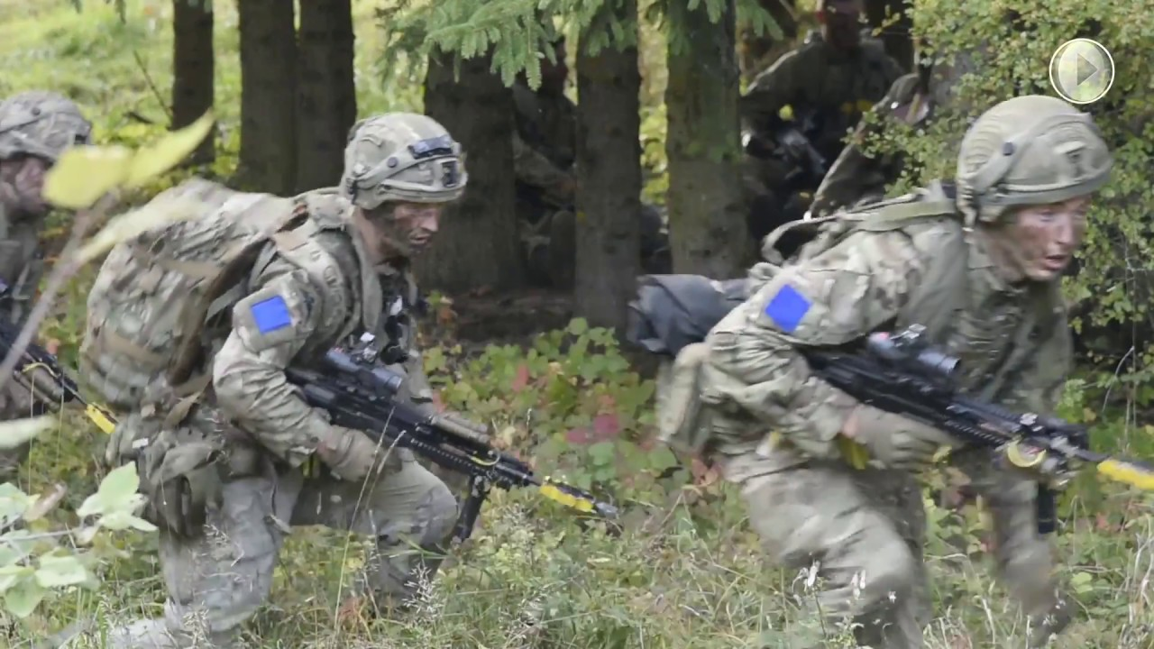 A Strong Europe: U S  Army's Exercise Swift Response