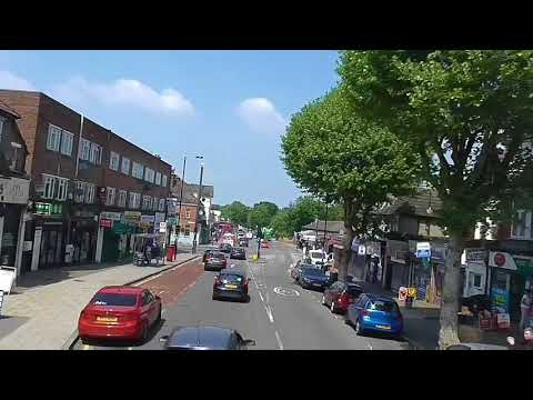 Full Route Visual | Route 126: Bromley South - Eltham, High Street | E208