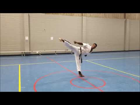 Pyongwon 4th Dan Poomsae of WTF World Taekwondo Federation | MyKwonDo