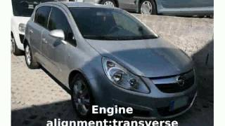 2004 Opel Corsa 1.3 CDTI Specification