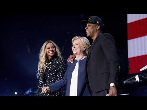 Beyonce, Jay-Z Endorse Hillary Clinton