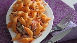 Салат из свеклы, моркови и капусты