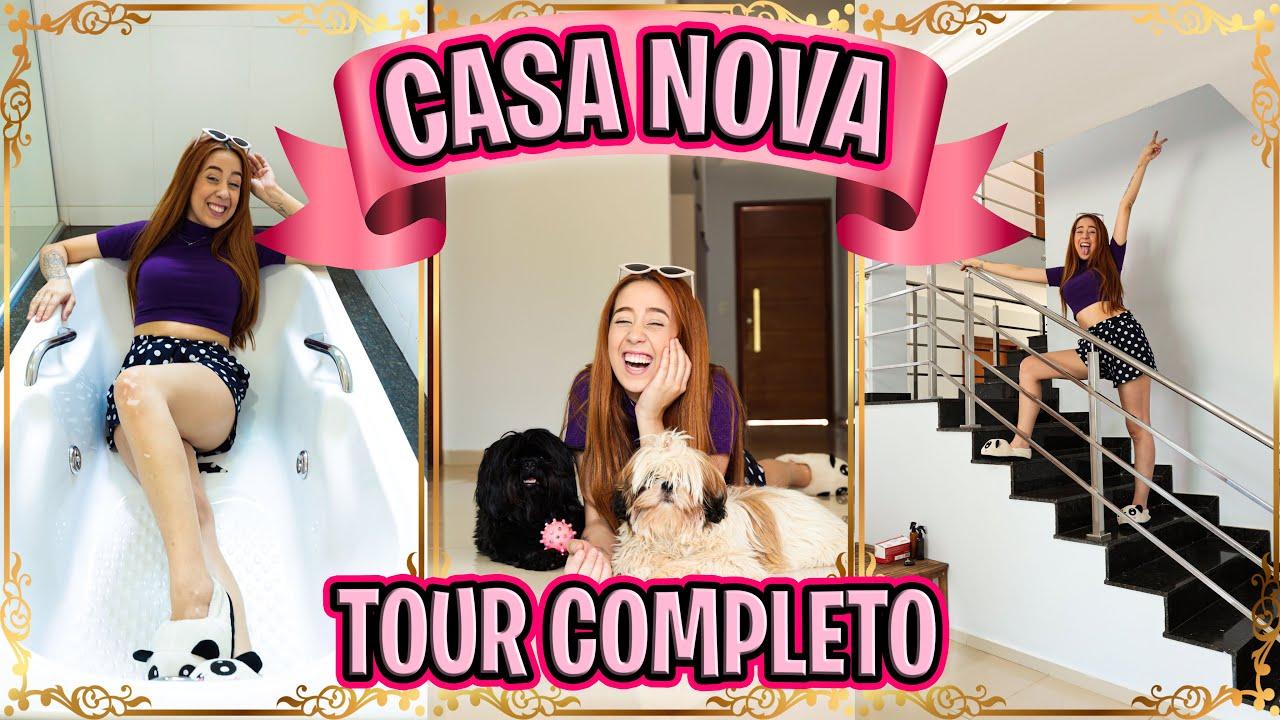 TOUR NA CASA NOVA | *muito grandeeee*😱😍