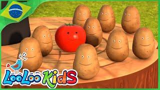 Uma Batata, Duas Batatas - Música Infantil | LooLoo Kids Português