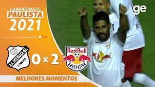 INTER DE LIMEIRA 0 X 2 BRAGANTINO | 최고의 순간 | 5 차 PAULISTA 2021 | ge.globo