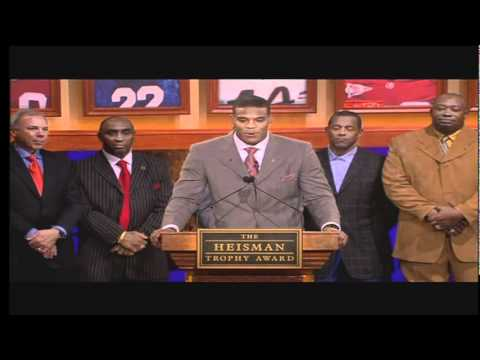 Cam Newton Wins The Heisman 2010