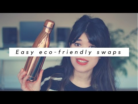 10 EASY ECO-FRIENDLY, SUSTAINABLE SWAPS 🍂