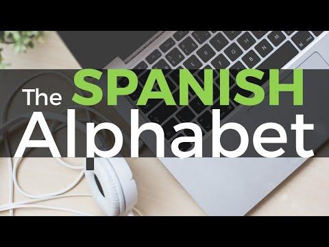 How to Pronounce the Spanish Alphabet