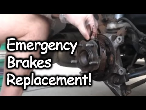 Emergency Brakes Parking Brakes Replacement Nissan Altima