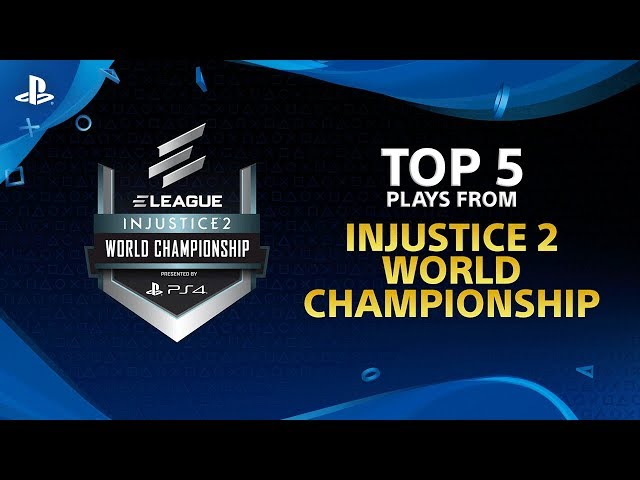 Injustice 2 - Top 5 Plays from ELEAGUE Injustice 2 Championship | PS4