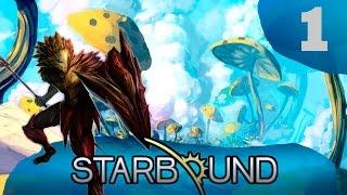 Прохождение Starbound (v.Upbeat Giraffe) #1 - Крупное обновление