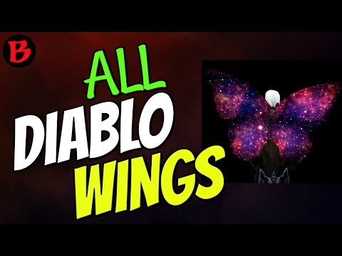All Wings in Diablo 3 with Locations Guide 2.6