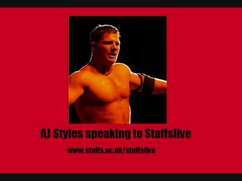 TNA World Champion AJ Styles Interview