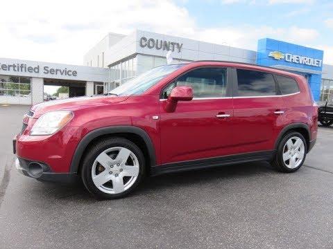 2012 Chevrolet Orlando Ltz Velvet Red Metallic Youtube