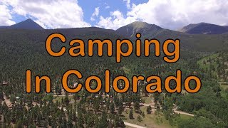 Colorado In Camping - Alvarado Campground