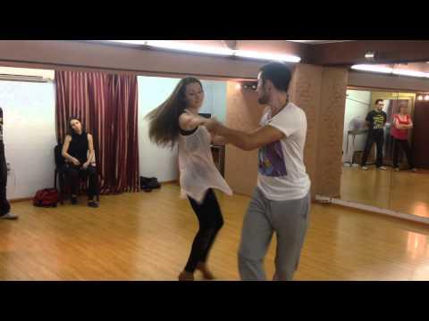 Zouk 2dance Lisunov Evgeniy & Nikolaeva Elena (Too Cool (Retail) - Ralph Tresvant)