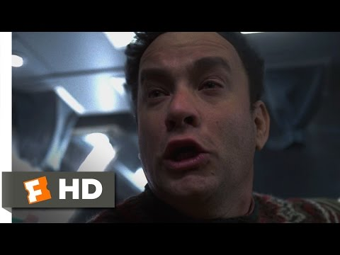 Cast Away (1/5) Movie CLIP - The Plane Crash (2000) HD