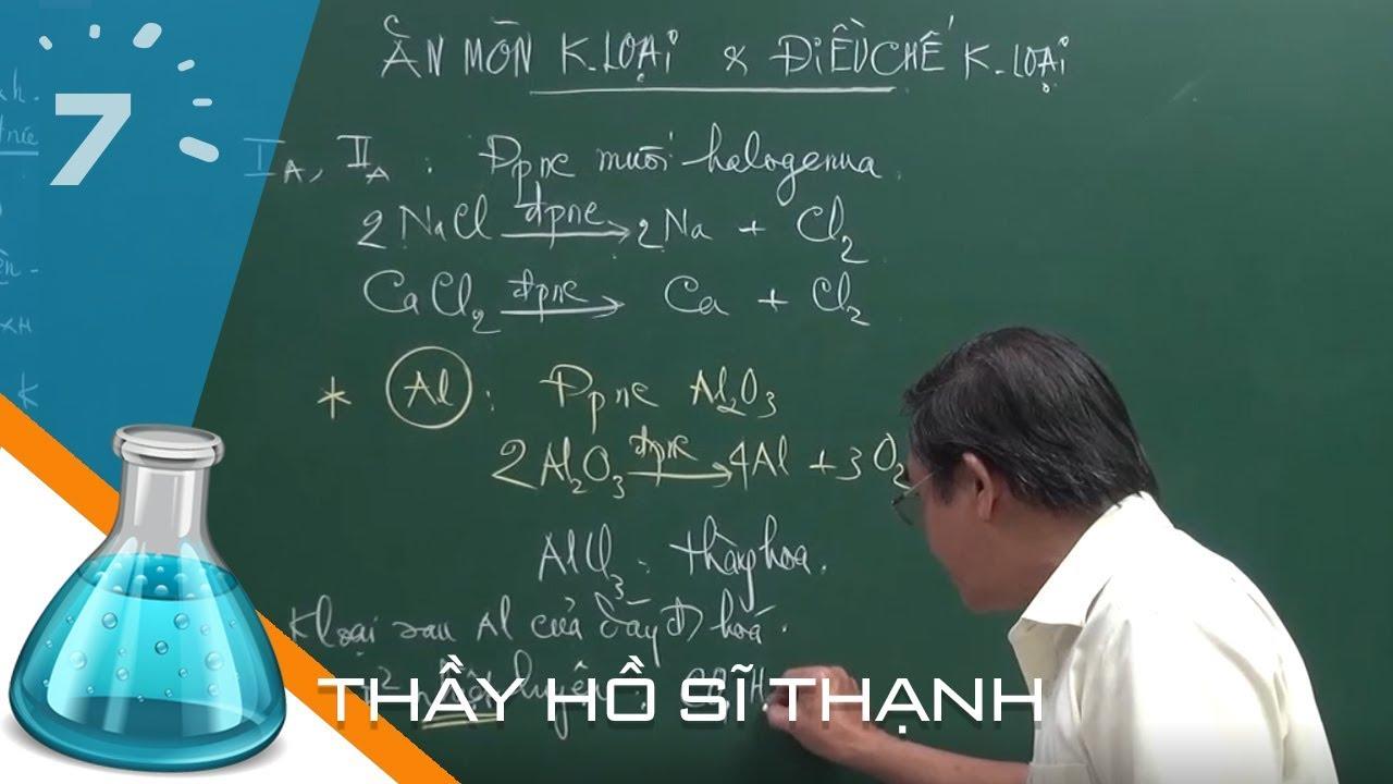 Hóa 12 Bài 21: Điều chế kim loại | HỌC247