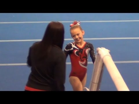 Whitney - Level 4 Gymnastics AA Champion (38.25) Galaxy Cup 2013