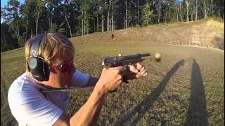 Slow Motion Full Auto Beretta 93R