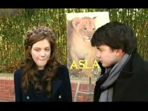 skandar keynes georgie henley ~ funny and cute moments ~