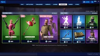 Peau de Flamingo et Pickaxe de brise-gazon ! Fortnite Item Shop 6 juillet 2019