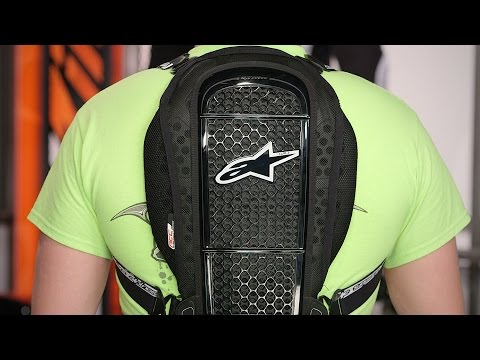 Alpinestars Nucleon KR-1 Road Back Protector Review at RevZilla.com