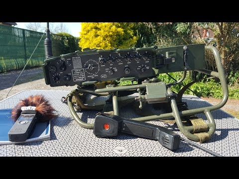 The PRC-320 Military Radio is Awesome!