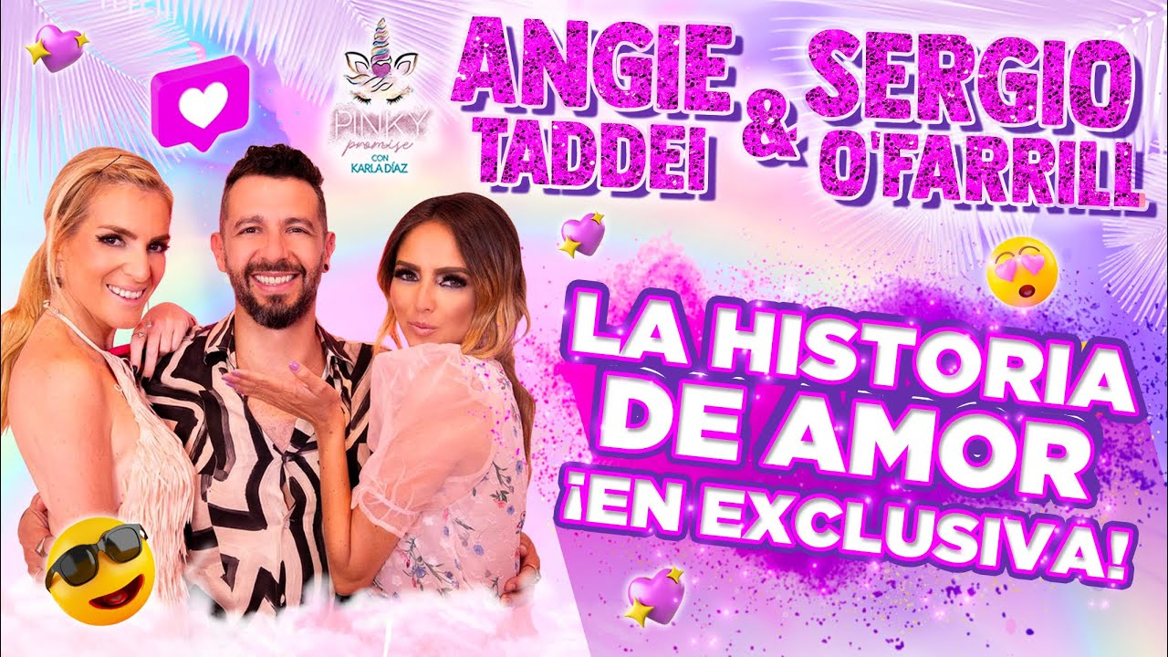 Angie Taddei y Sergio O'Farrill en Pinky Promise - T1 - Ep16