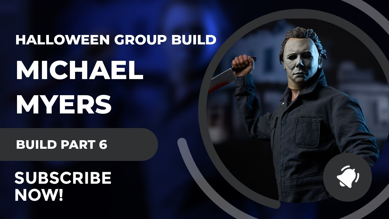 SciFiantasy 2017 Halloween Group Build Finale - Michael Myers Model