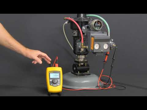 Fluke 710 mA Loop Valve Tester - Product Configuration Demo