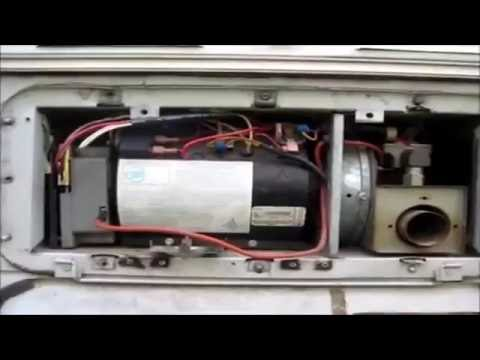 hydro flame atwood furnace repair 8531 ii youtube