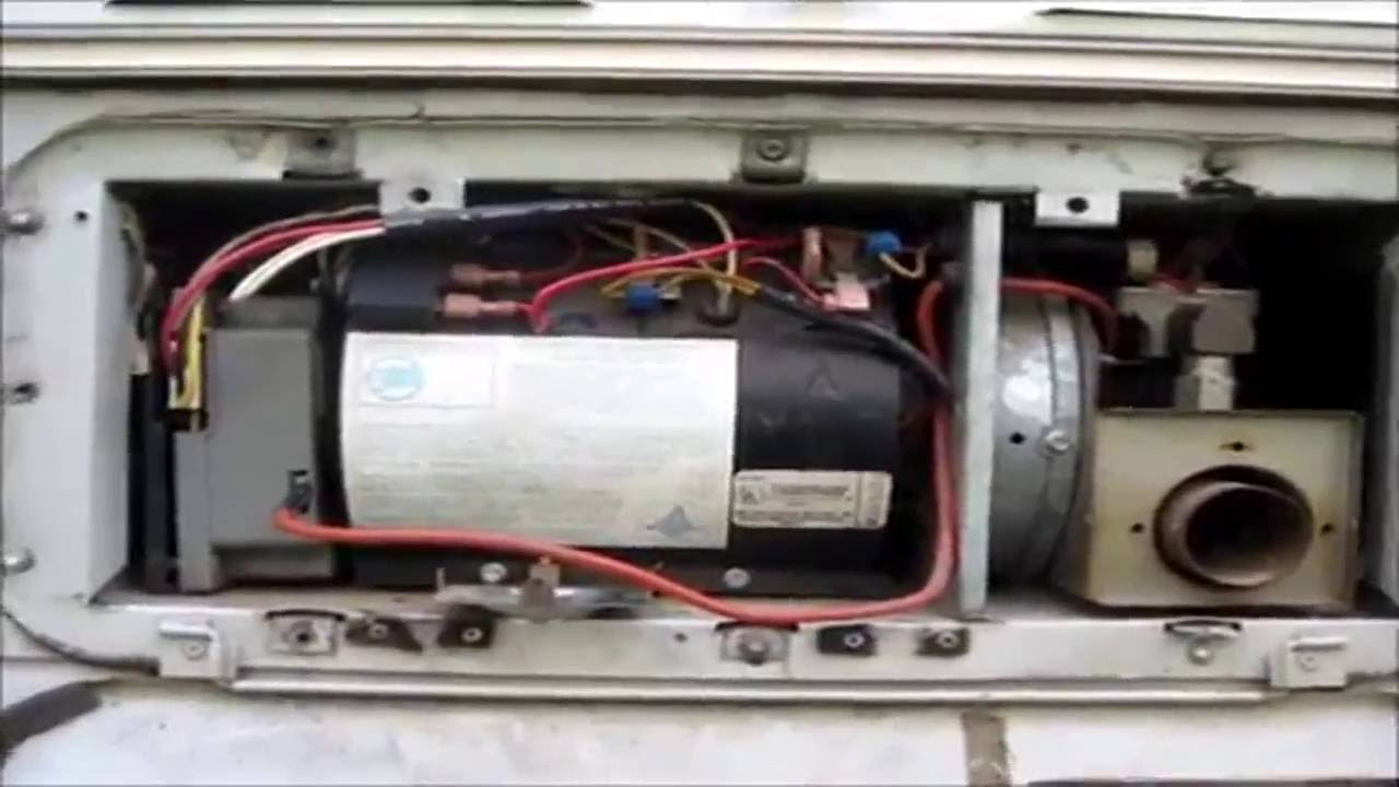 Wiring Diagram For Gas Furnace Thermostat Door Entry Diagrams Hydro Flame Atwood Repair 8531 Ii - Youtube