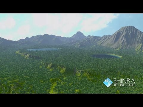 Shinra Technologies Cloud Tech Demo