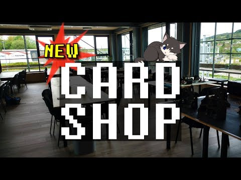 New Card Shop in Luxembourg - Games Tower!