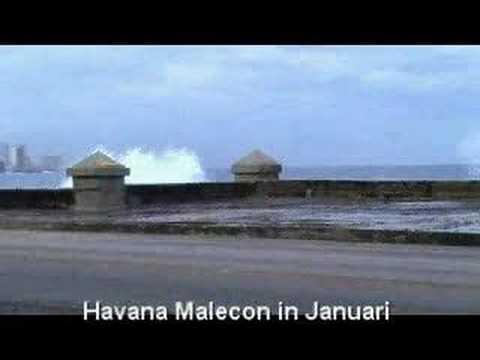 Havana Malecon - Havana sea promenade
