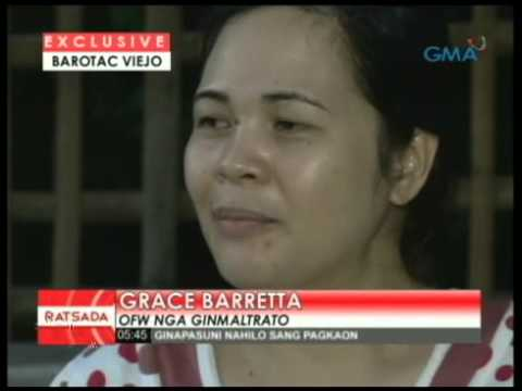 OFW Maltreated by Employer in Jeddah, Saudi Arabia