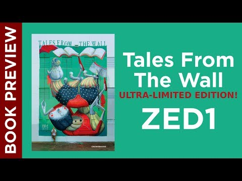 ZED1: Tales From The Wall (Ultra Limited Edition Books)