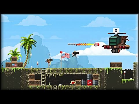 Broforce Game 1 5 Areas Youtube